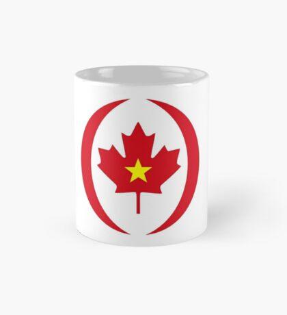 Vietnamese Canadian Multinational Patriot Flag Series Mug