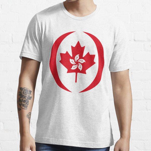 Hong Konger Canadian Multinational Patriot Flag Series Essential T-Shirt