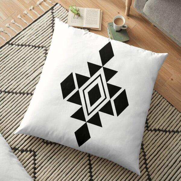 Aztec Boho Design Floor Pillow
