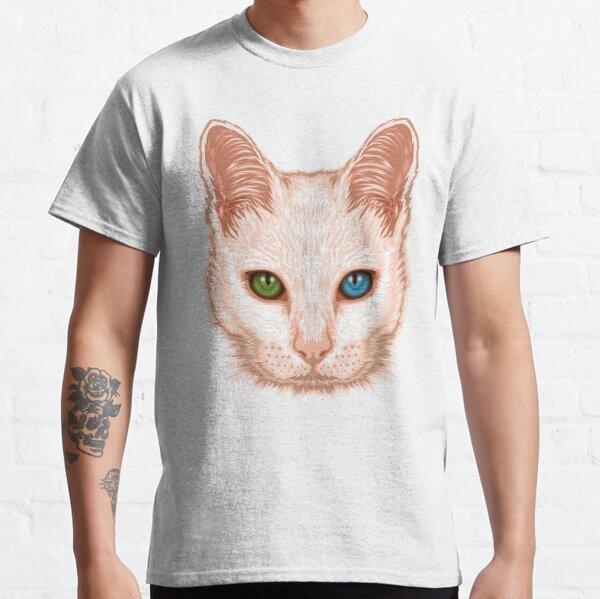 Heterochromia Cat Classic T-Shirt