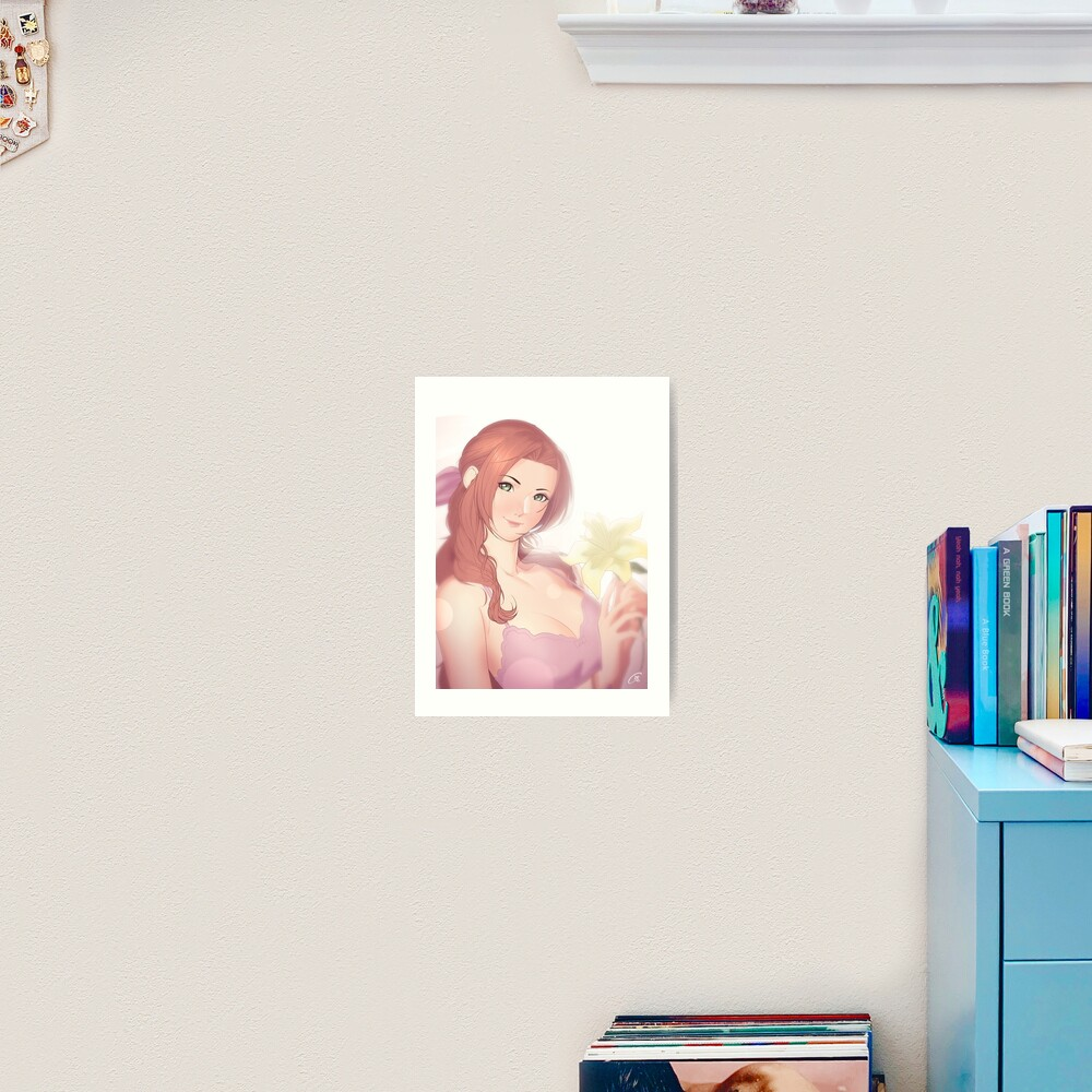 La Lovely - Aerith Gainsborough Art Print