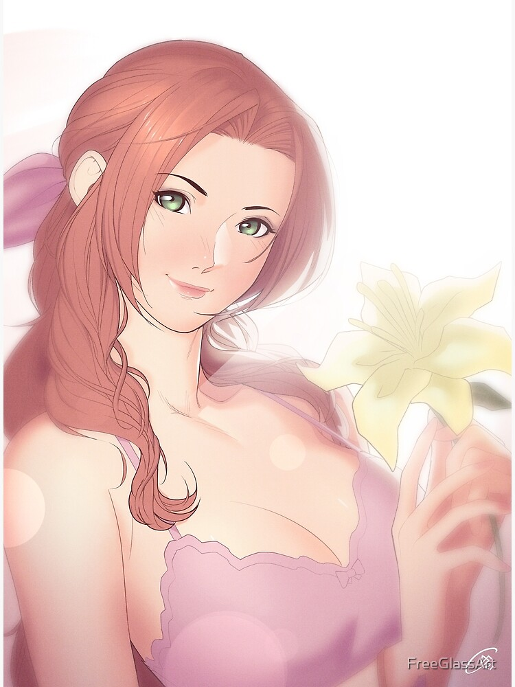 La Lovely - Aerith Gainsborough by FreeGlassArt