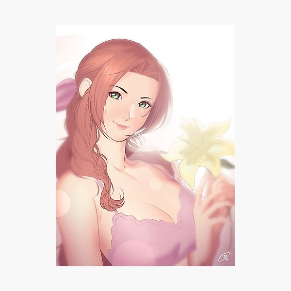La Lovely - Aerith Gainsborough Photographic Print