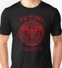 Fuyuki fate stay night university Unisex T-Shirt