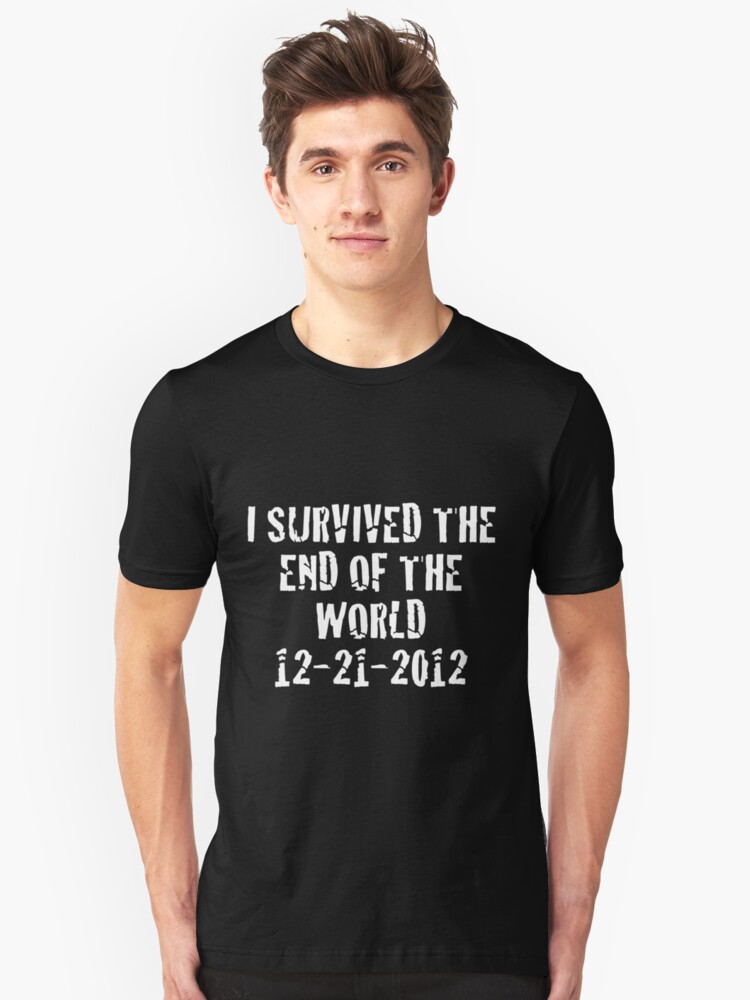 I Survived 2012 (White Text) by TWCreation