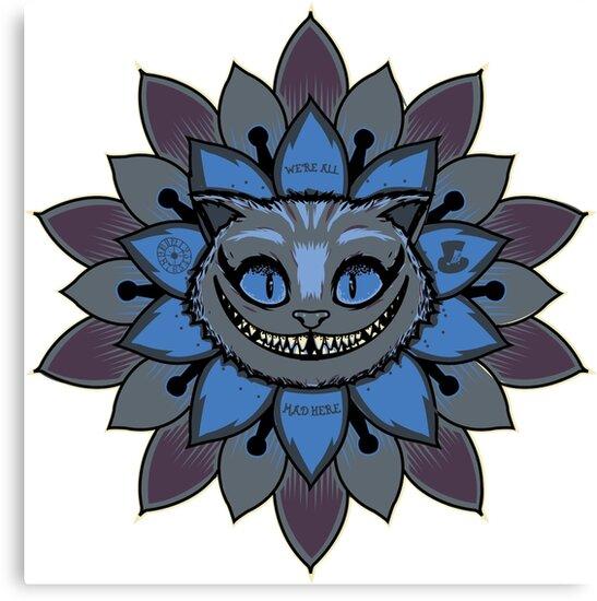 «Cheshire Mandala» de piercek26