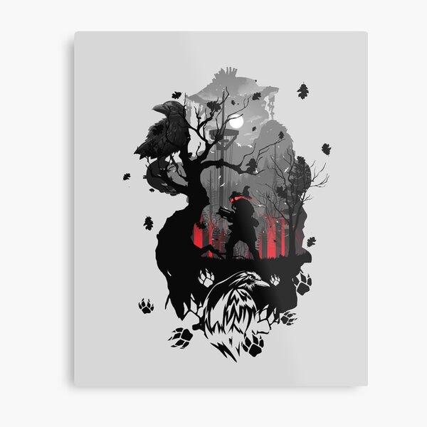 Bloodhound Apex Metal Print