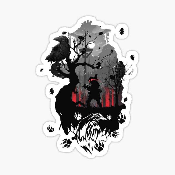 Bloodhound Apex Sticker