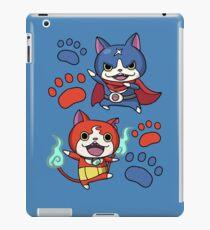 Jibanyan and Fuyunyan iPad Case/Skin