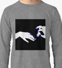 colour my life with a full of chaos and trouble (blue) Lightweight Sweatshirt