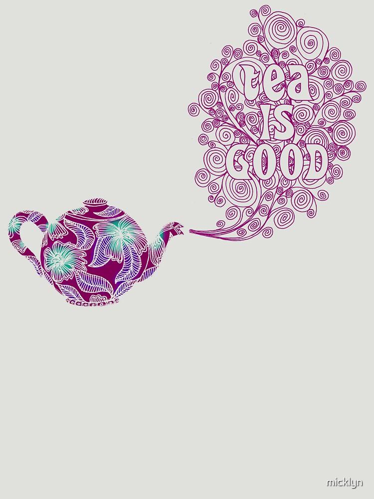 TShirtGifter presents: Tea is Good | Women's T-Shirt