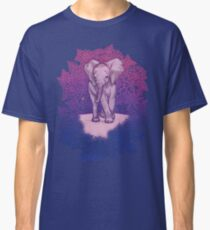 Cute Baby Elephant in pink, purple & blue Classic T-Shirt