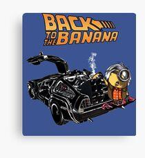 Back To The Banana v2 Canvas Print