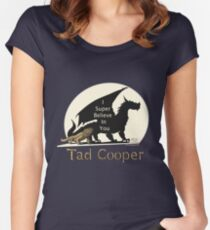 Galavant: I Super Believe In You Tad Cooper V2 Women's Fitted Scoop T-Shirt