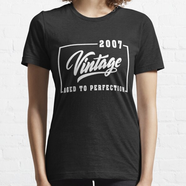 Vintage Aged to perfection est 2007, Wedding Anniversary ,birthday Gift ,married T-Shirt  Essential T-Shirt