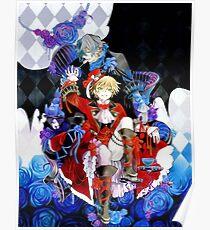 Red & blue shades (Pandora Hearts) Poster