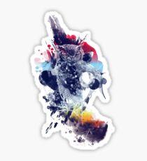 soulful owl Sticker
