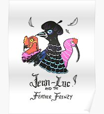 Jean-Luc and the Feather Frenzy Poster