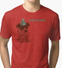 Party Animal Tri-blend T-Shirt