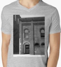 Burlington, North Carolina - Arches and Alley Mens V-Neck T-Shirt