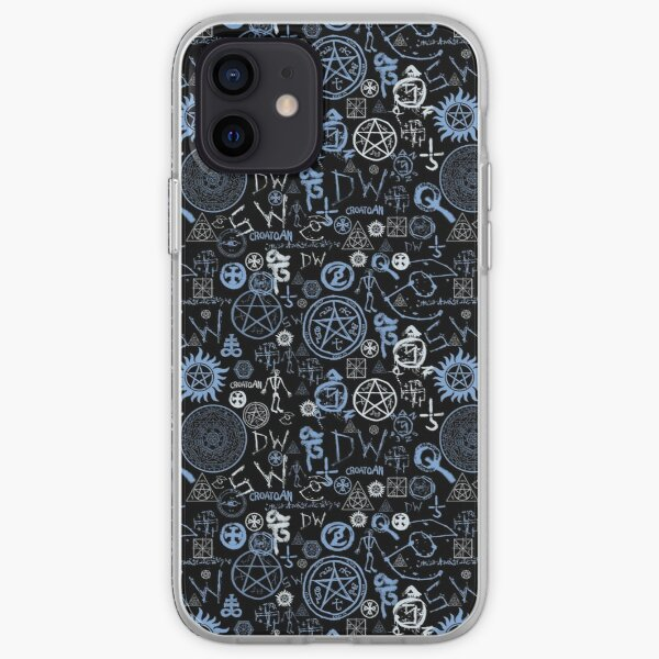 Supernatural Symbols  iPhone Soft Case