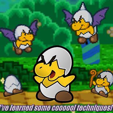 Paper Mario - Jr. Troopa by bushidosempai