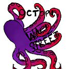 Octopi Wall Street (+sticker) by greenfinch