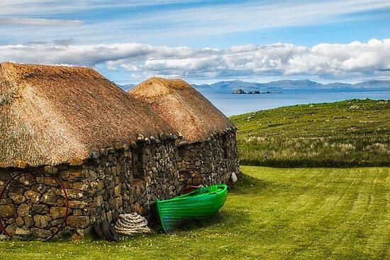Old Scottish Crofts On The Isle of Skye by derekbeattie