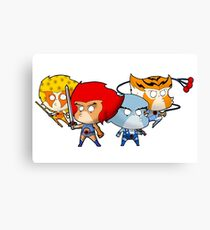 Thundercats Chibi Canvas Print