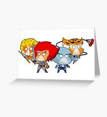 Thundercats Chibi Greeting Card