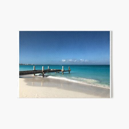 Warm Kisses From Turks And Caicos Art Board Print