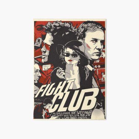 Fight Club 6 Art Board Print