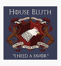 House Bluth Family Seal Photographic Print
