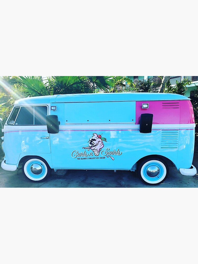 Pink & Blue Ice Cream Truck  by dukejagger88