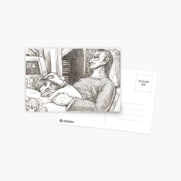 dear doctor Postcard