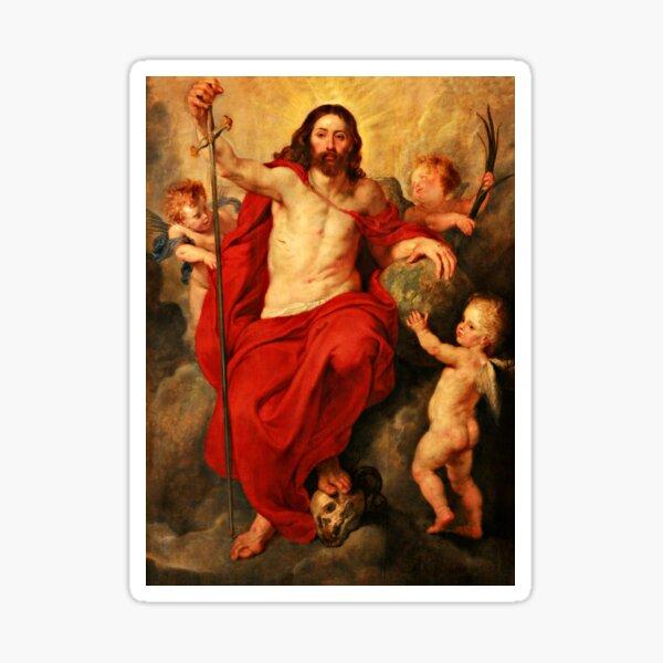 Christ Triumph Over Death Sticker