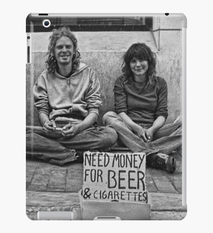 Sincerity  Above All!  iPad Case/Skin