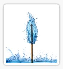 water flame Sticker