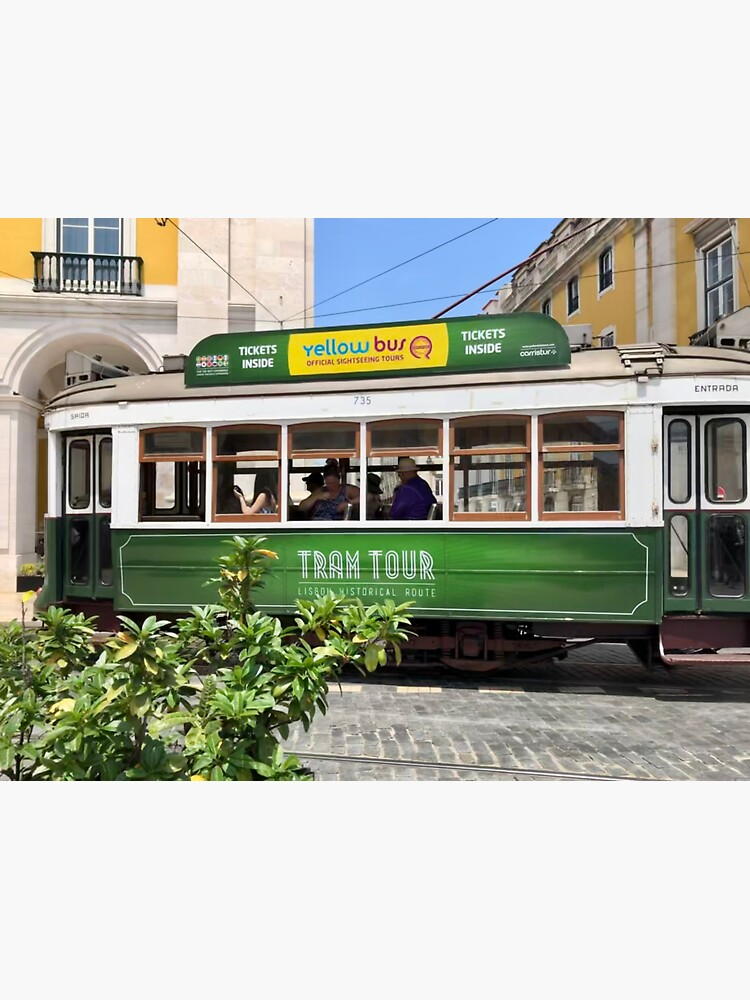 Green Tram Of Portugal by dukejagger88