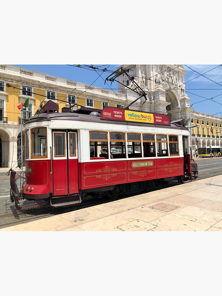 Red Tram Of Portugal by dukejagger88