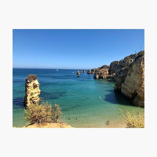 Mediterranean Rocks Photographic Print