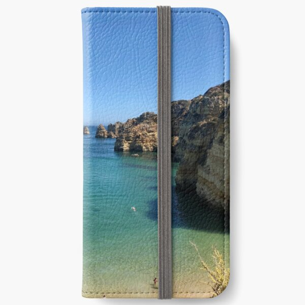 Mediterranean Rocks iPhone Wallet