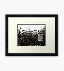 Le Metro Framed Print