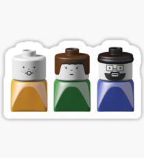 Lego Duplo Family Sticker