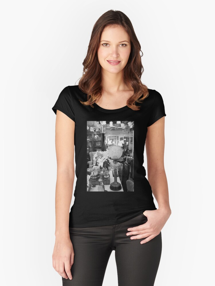 4a Women's Fitted Scoop T-Shirt Front