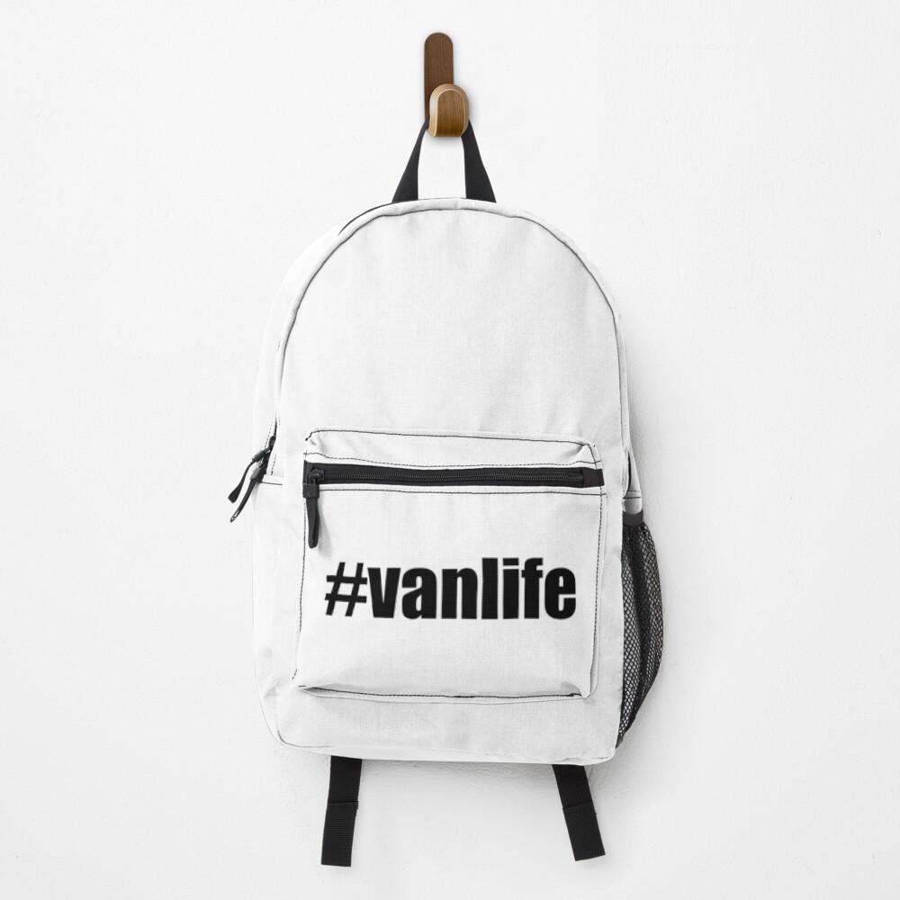 Vanlife Hashtag - # Vanlife Backpack