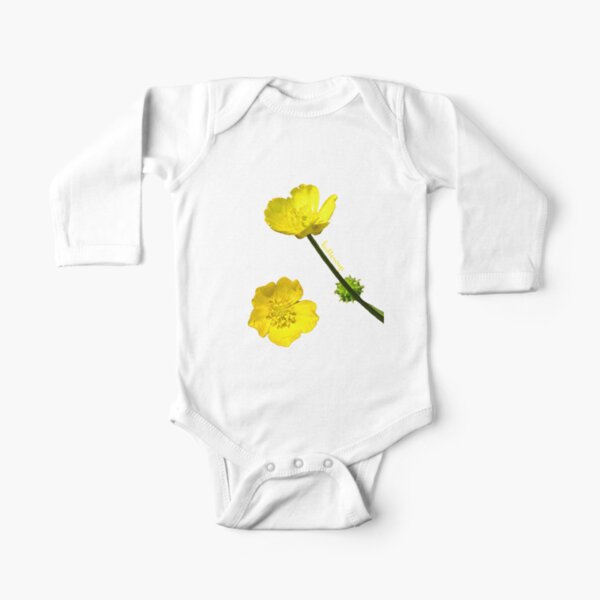 Buttercup Long Sleeve Baby One-Piece