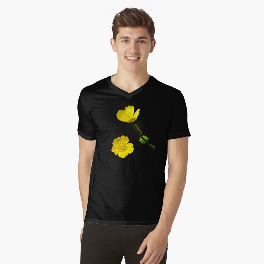 Buttercup V-Neck T-Shirt