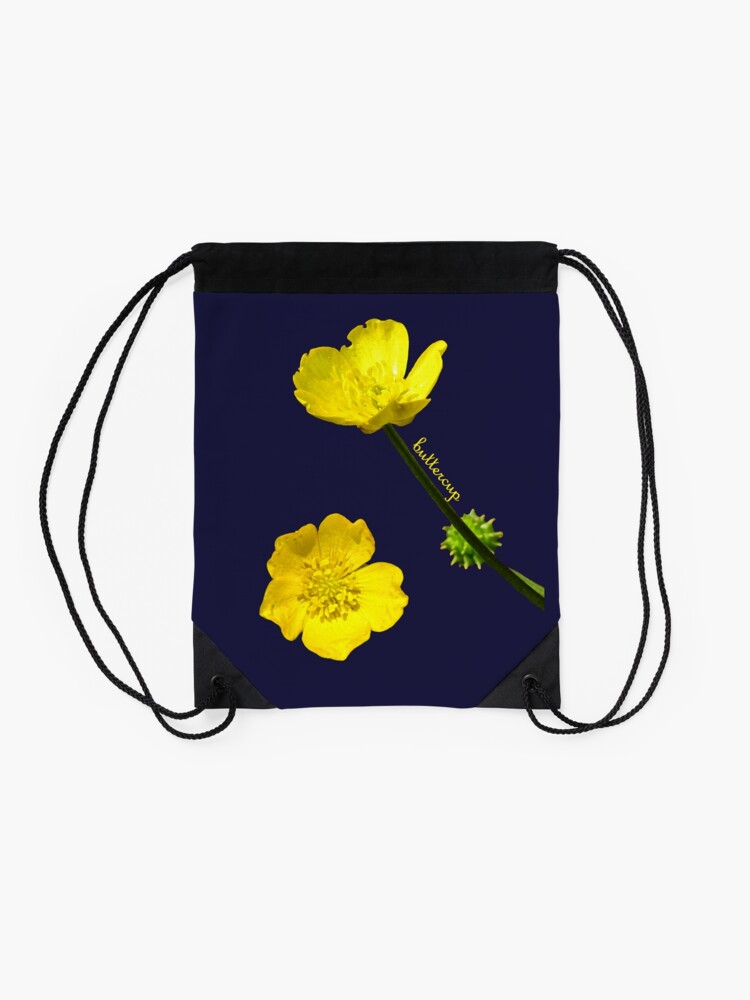 Alternate view of Buttercup Drawstring Bag