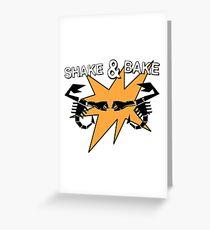 Abarth Shake & Bake Scorpion Greeting Card